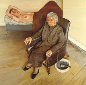 Art-My visit to freud exhibition