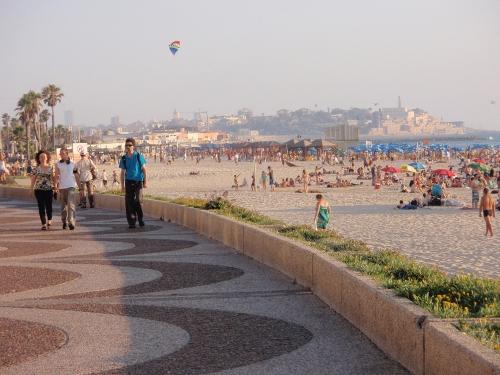 Jaffa at a distance