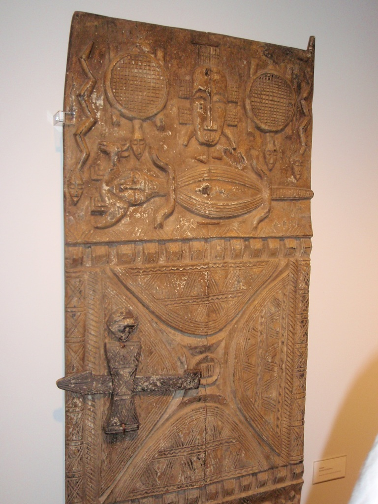 Tribal Art Dogon Door