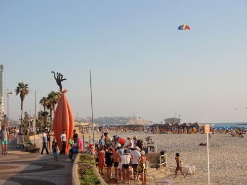 Tel-Aviv beach front