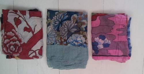 3 sarongs