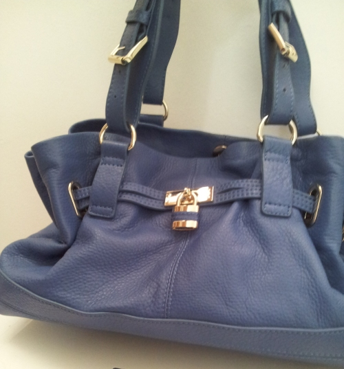 blue bag Reiss London