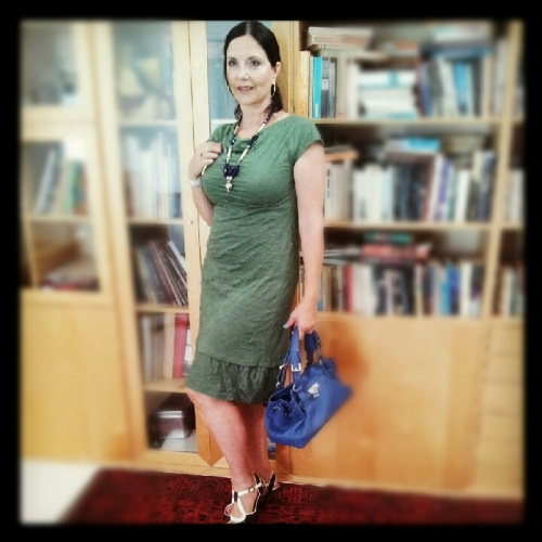My green dress