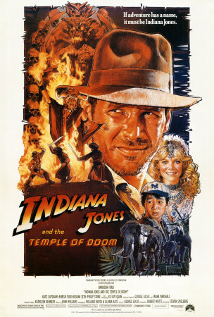Harrison Ford as Indian Jones