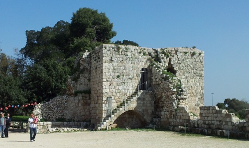 Antipatris fortress4