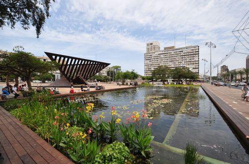 Rabin square Eco pool