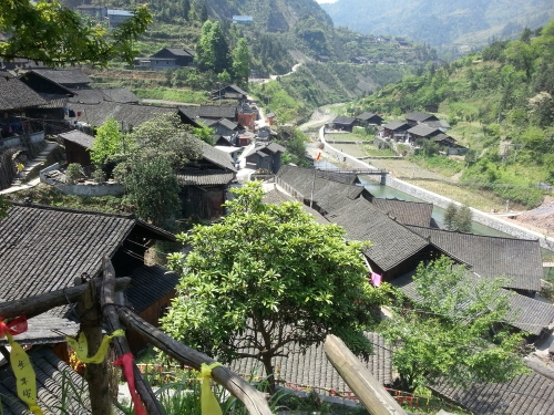 a Miau village in Hunan