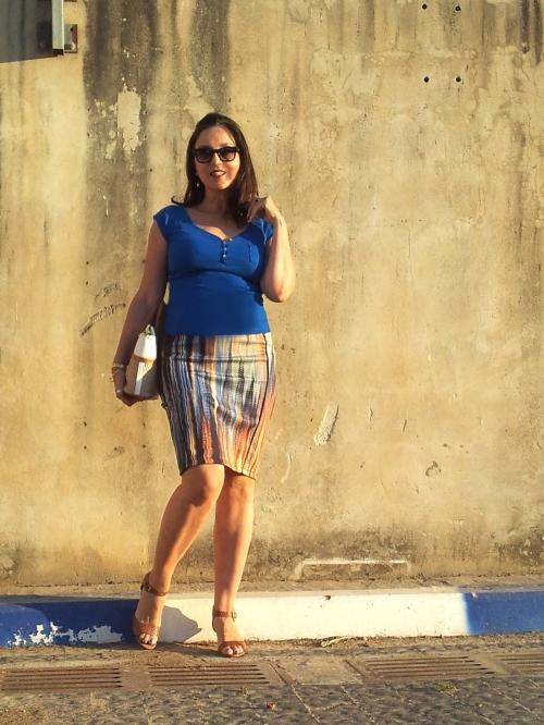 striped skirt2