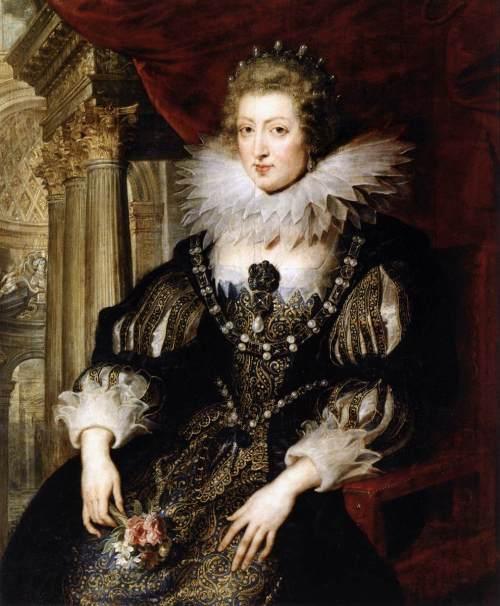 Ann of Austria by Peter Paul Rubens
