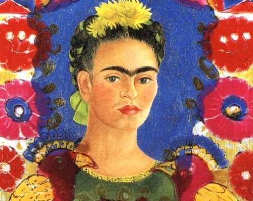 frida_kahlo_self_portrait_frame_postcard-504x400