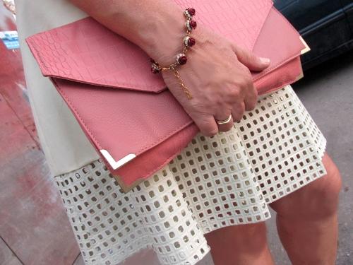 net  detail skirt